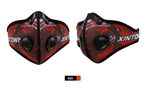 XINTOWN Anti-Pollution City Cycling Mask Mouth-Muffle Dust Mask Outdoor Sports Running Face Mask