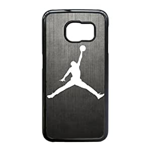 Jordan caso Edge D7D27I0PV funda Samsung Galaxy S6 funda 101UT8 negro