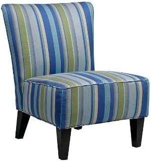 Handy Living Halsted Armless Transitional Accent Chair