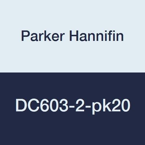 Parker Hannifin DC603-4 Series DC603 Drain Cock 1//4 Male Pipe