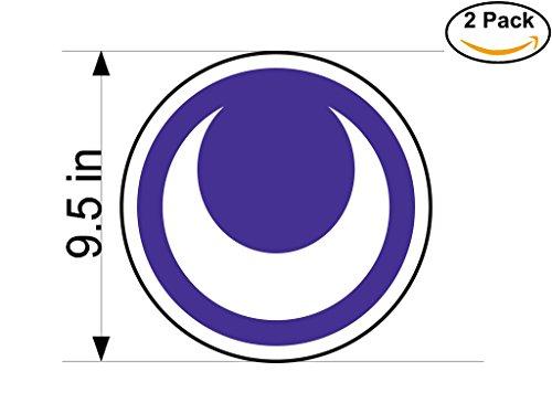 fan products of Al-Hilal Sudan Soccer Football Club FC 2 Stickers Car Bumper Window Sticker Decal Huge 9.5 inches