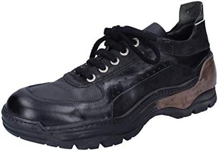 MOMA Sneakers Homme Cuir Noir