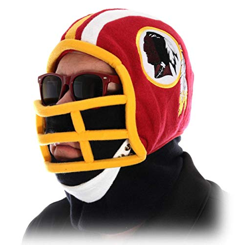 Cleveland Browns Ultimate Fan Helmet - Excalibur Washington Redskins Youth Helmet Beanie Hat (Size: Medium)