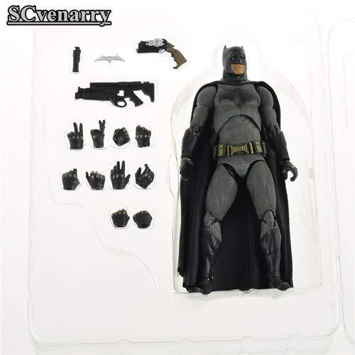 VIET FG DC Comics Batman Figure Activity Justice League Mobile Toys The Dark Knight Rises Christmas Model Toy 16cm- Gift for Your Kids