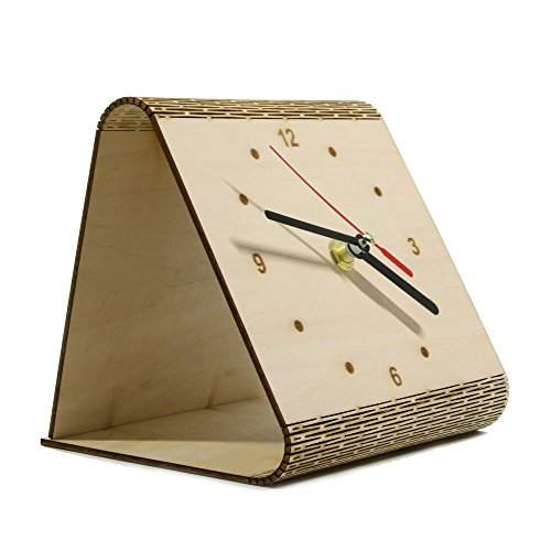 Decor Bedroom M and F 1Piece DIY Desk Time Clock Contemporary Bedside Table Clock Minimalist Wooden Pendulette The Flex Time Masa Saati