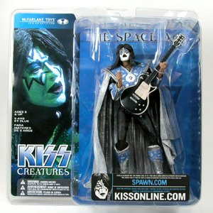 McFarlane Toys, KISS Creatures Ace Frehley (The Space Ace) Action Figure. 6 Inches