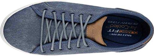 64935 40 Uomo Sneakers Navy Tessuto Skechers Navy OFxnvvz