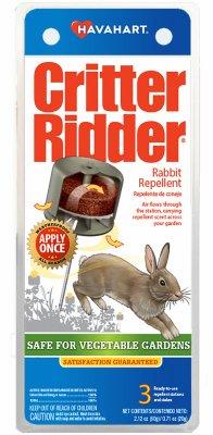 Woodstream CR5600 Critter Ridder Rabbit Repelling Station, 3-Pk. - Quantity 6