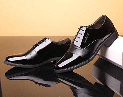 Transpirables Zapatos Negocios Para Hombre De 40 Cuero Vestir Mlsopx wUY6gxw1
