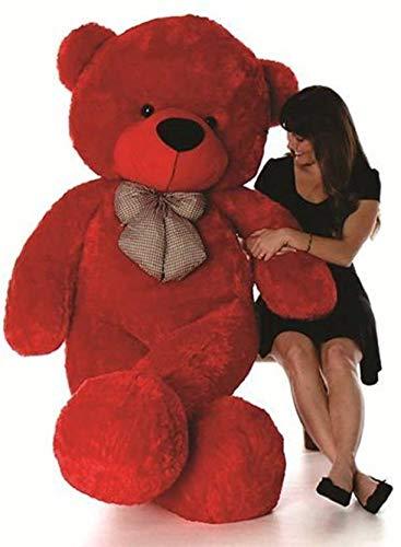 Red Teddy Bear 5 Feet, 5 Feet Red Teddy Bear Amazon In Home Kitchen