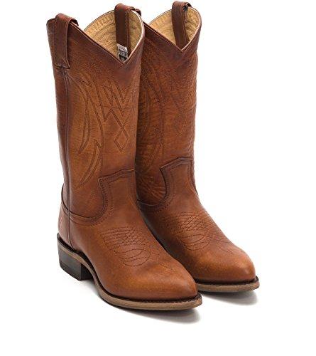 FRYE 3478161 Women's Billy Pull On Boot, Cognac - 7.5M