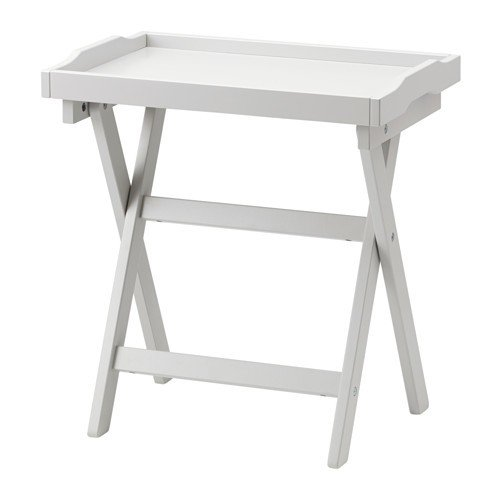 Ikea maryd Bandeja Mesa en gris; ...