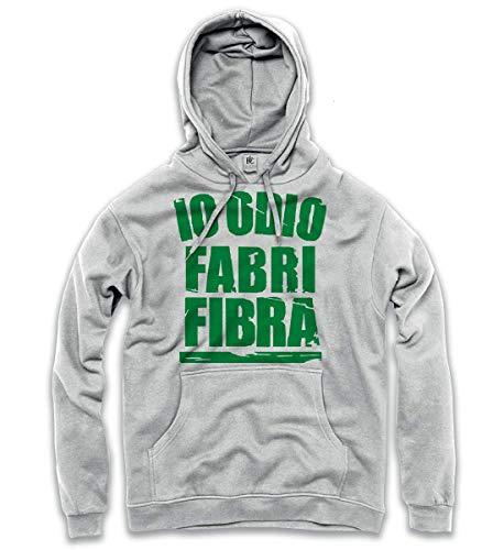 Bianco Cappuccio Fabri Fibra Verde Felpata Odio Mokaba Vari Colore Bc Uomo Stampa Io Colori Felpa 8w4XqIn5T