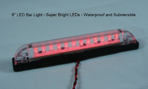 Red Led Courtesy Lights in Florida - 7