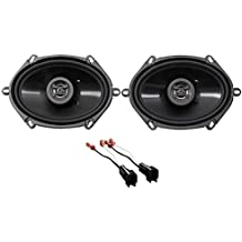 Front Hifonics Factory Speaker Replacement Kit For 1998-11 Ford Crown Victoria