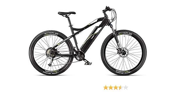 Telefunken Bicicleta eléctrica de montaña, Aluminio, 9 Marchas Shimano Acera - Pedelec MTB 27,5 Pulgadas, Motor de Rueda Trasera 250 W, Frenos de Disco, Ascensor M900: Amazon.es: Deportes y aire libre