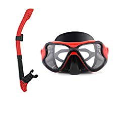 Description: Ergonomic, silicone snorkel design creates a tight yet comfortable seal against your face.  A one-way opening purge valve allows you to easily clear water from your snorkel for energy conservation and better breath control. Perfe...