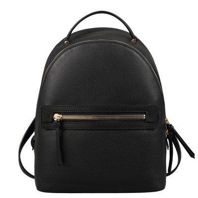 BXMB Baotou bolso de cuero bolso de cuero nuevo ventilador coreano adorable panda mochila mochila negra,ocio black