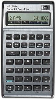 HP 17BII+ - Calculadora financiera, Color Plateado