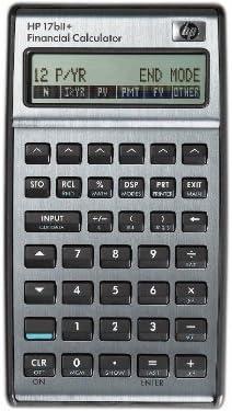 Hewlett Packard HP17BIi+ - Calculadora Financiera, color negro ...