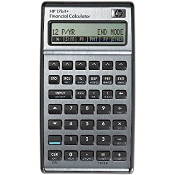 AmazonCom  Hp Bii Financial Calculator Silver  Electronics