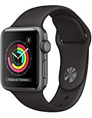 Apple?Watch Series?3 (GPS, 38mm) - Space Gray Aluminum Case with Black Sport Band