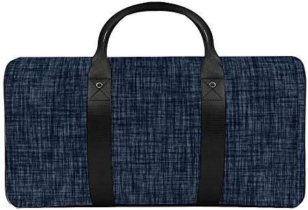 ラストデニム1 旅行バッグナイロンハンドバッグ大容量軽量多機能荷物ポーチフィットネスバッグユニセックス旅行ビジネス通勤旅行スーツケースポーチ収納バッグ