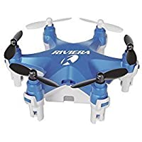 Riviera RC Micro Hexacopter Headless Mode Drone Blue