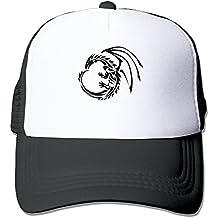 JRYJN Dragon Unisex Trucker Hats Hip Hop Snapback Hat Summer Hats For Man Junior Boys