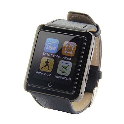 VIGICA U10 teléfono reloj correa de piel reloj de pulsera ...