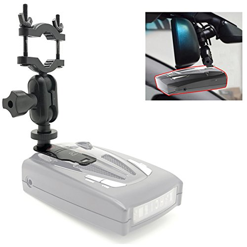 AccessoryBasics Car Rearview Mirror Radar Detector Mount Holder for All Whistler Radar Detector (CR65 CR 70 CR75 CR80 CR85 CR90 CR93 Pro DE17xx All XTR) Require min.of 1