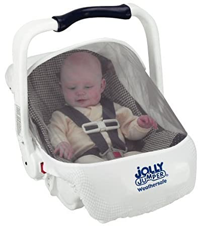 Amazon.com: Jolly Jumper Weather Safe Infant Car Seat Cover: Baby
