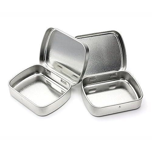 Mosaic Tea Tins, Set of 2 | World Market |Tin Storage Containers