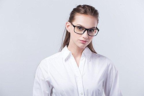 HornetTek BLK104 Computer & Gaming Glasses with Blue Light Protection & UV Filter Eyewear Light Weight Frame with Crystal Lens by HornetTek