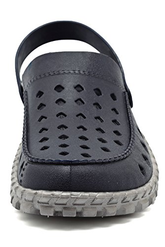 Shoes Navy Drying Shoes Sandals adituo Mesh Clog Unisex Quick Garden Breathable Summer wv6af