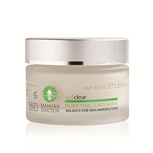 マヌカドクター明確な浄化フェイスマスク40ミリリットル x2 - Manuka Doctor Api Clear Purifying Face Mask 40ml (Pack of 2) [並行輸入品] B072L429SQ