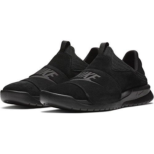 Nike Benassi Slip Mens Lifestyle Sneakers Black/Black/Black 882410-003 (13 D(M) US)