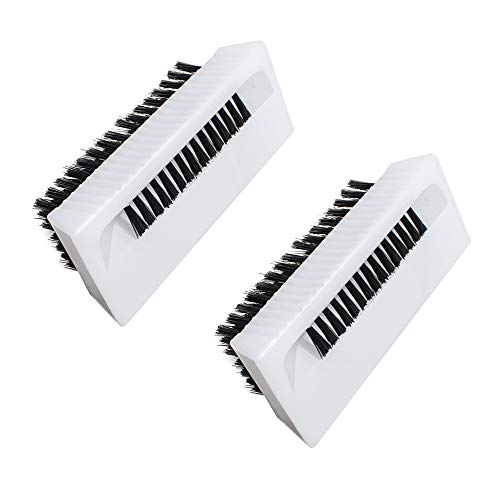Genmine Surgical Scrub Brush Non Disposable with Nail Cleaner 2 PACK