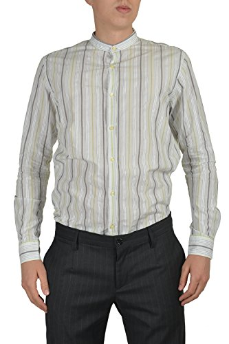 Etro Men's Multi-color Long Sleeve Button Down Dress Shirt US 16.5 IT 42