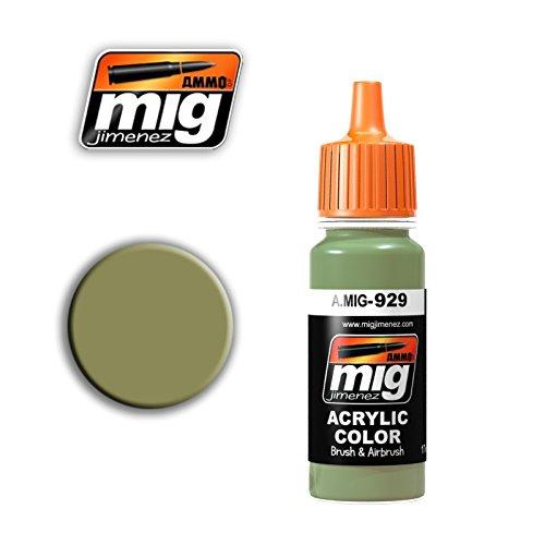 Ammo of Mig Jimenez Acrylic Color Olive DRAB Shine 17ml #0929