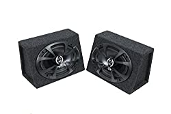"Bbox 6x9pr 6"" X 9"" Sealed Speaker Enclosure Pair"