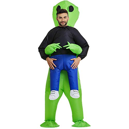 TOLOCO Inflatable Costume | Inflatable Alien Rider Costumes for Adults Or Child | Halloween Costume  - http://coolthings.us