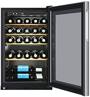 Haier WS30GA - Vinoteca de 30 botellas, filtro anti-uv, con compresor, iluminación LED, 38dba, libre instalación, clase G[Clase de eficiencia energética G]