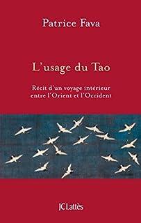 L'usage du Tao : récit d'un voyage intérieur entre l'Orient et l'Occident, Fava, Patrice