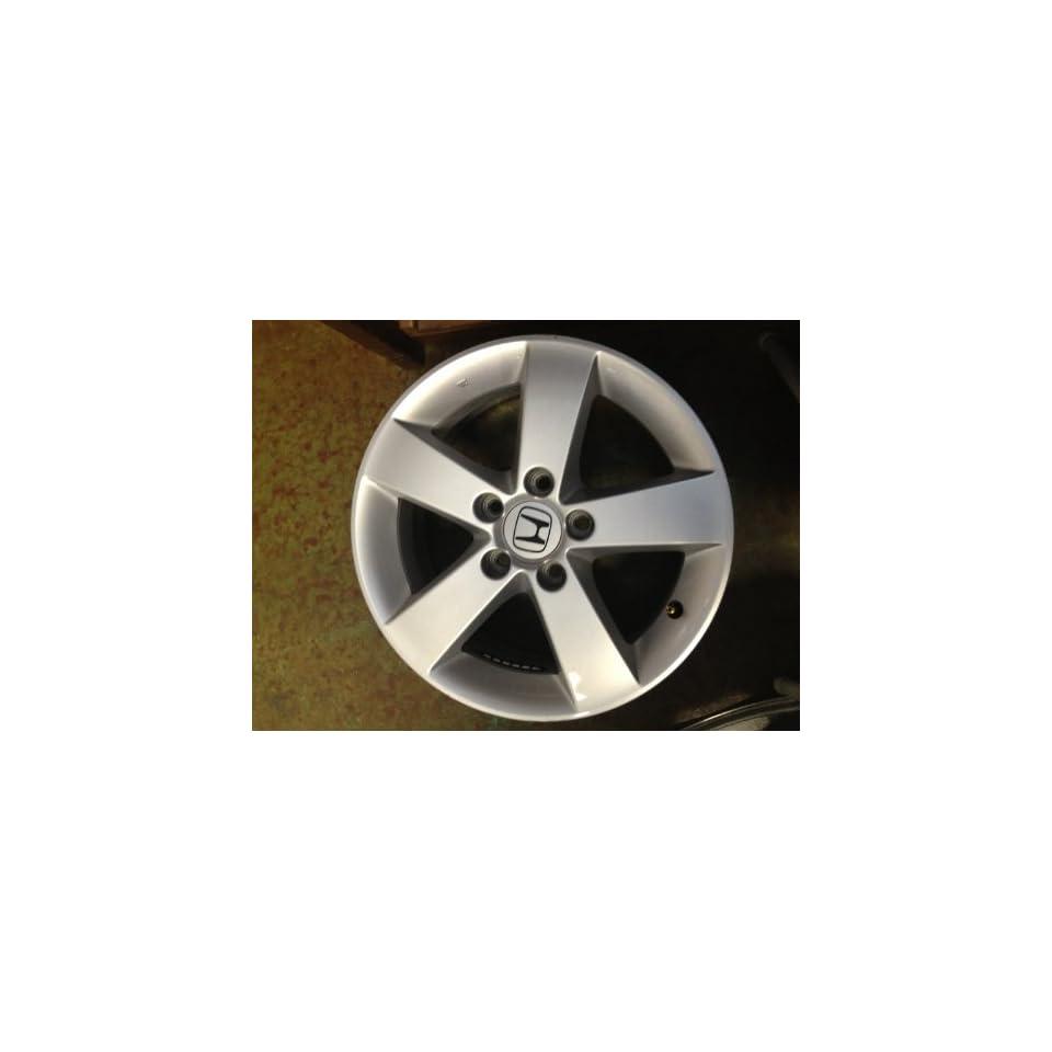 16 Inch 2006 2007 2008 2009 2010 2011 Honda Ex Lxs Exl Civic Original OEM Factory Alloy Wheel Rim 16x6.5 63899 42700SNAA93