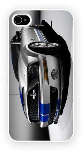 Ford Shelby Mustang Cobra1 Art Design, iPhone 4 4S, Etui de téléphone mobile - encre brillant impression