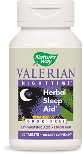 (Nature's Way Valerian Nighttime, 100 Tablets)
