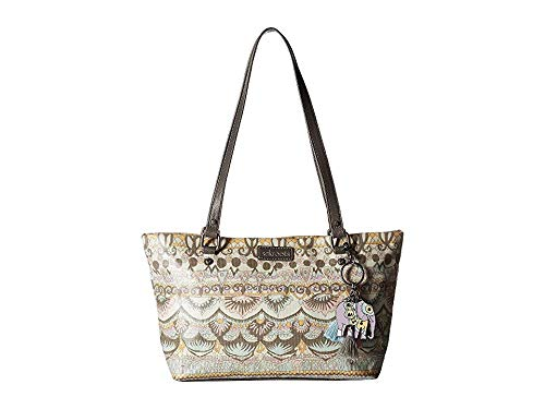 (Sakroots Unisex-adults Small Satchel, Pastel one World )