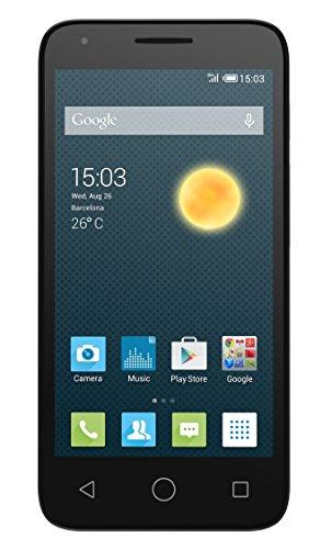 Alcatel Onetouch Pixi 3 Smartphone (Dual SIM, 11,4 cm (4,5 Zoll), Dual-Core, 1GHz, 4GB) schwarz