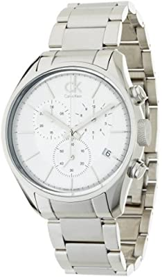 Calvin Klein Masculine K2h27126 Gents Steel Bracelet Stainless Steel Case Watch